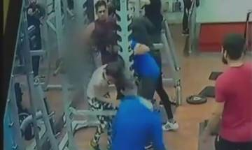 Indore: Man punches, kicks woman at gym; CCTV captures entire incident