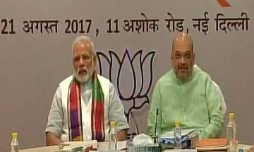 PM Modi, Amit Shah meet BJP CMs, give road map till 2022, directs them to implement policies within 3 months