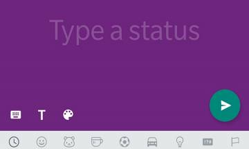 WhatsApp offering coloured text status updates for Android and iPhone users