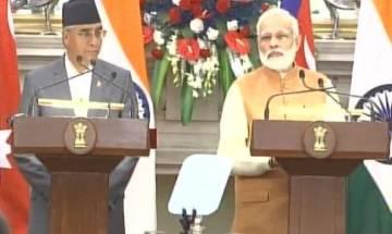 India, Nepal sign 8 pacts, Deuba invites PM Modi for Arun III hydro project inauguration