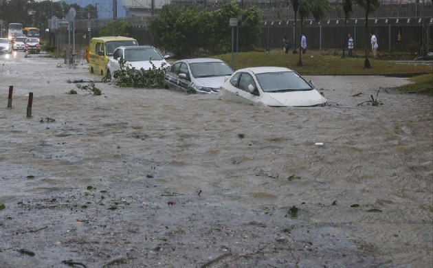 Typhoon Hato hit Macau southern China; death toll rises to 12. (Source: Chinese Media)