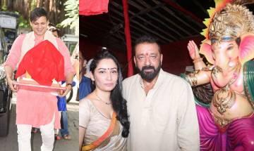 Ganesh Chaturthi: B-town welcomes Lord Ganpati with fervour, gaiety