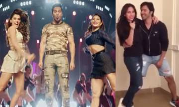 Judwaa 2: Varun Dhawan shakes a leg with Karisma Kapoor on 'Tan Tana Tan' (watch video)