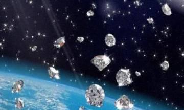 Diamond rain of Neptune and Uranus recreated on Earth using laser technology