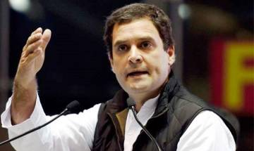 Congress Vice-President Rahul Gandhi's message on Patna rally