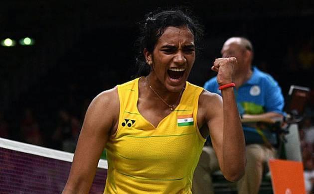PV Sindhu, Indian badminton player. (File Photo)