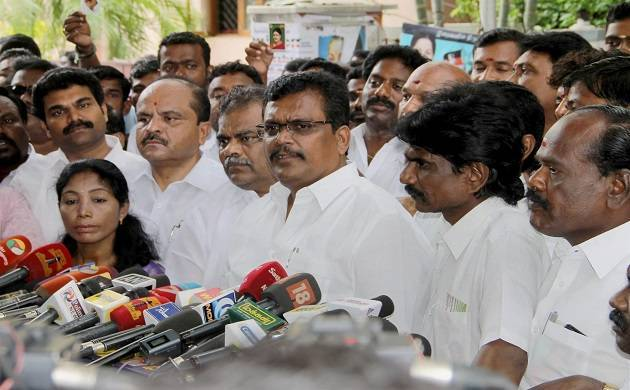 DMK-led opposition urges TN Guv Vidyasagar Rao to conduct floor test (Source: PTI)
