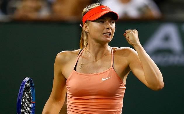 Maria Sharapova - File Photo