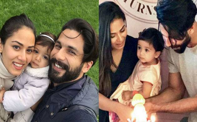 Here's how Shahid Kapoor celebrated daughter Misha's first birthday (see pic)