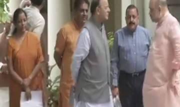 Gujarat polls: BJP president Amit Shah holds strategy meet