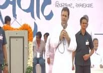 Rahul Gandhi targets BJP, says Congress will win Gujarat Assembly polls