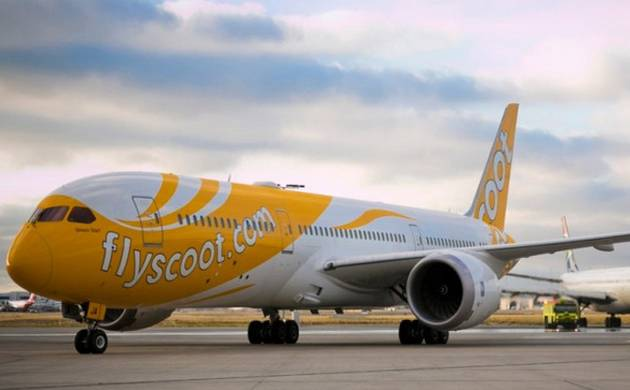 Singapore Scoot airline (file photo)