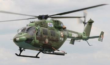 Dhruv army helicopter crashes in eastern Ladakh, all crew members safe