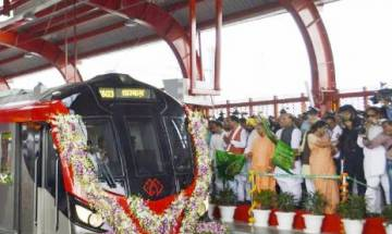 BJP, SP claim credit for Lucknow Metro launch