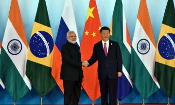 BRICS 2017: PM Modi has 'forward looking' meeting with Chinese pres Jinping