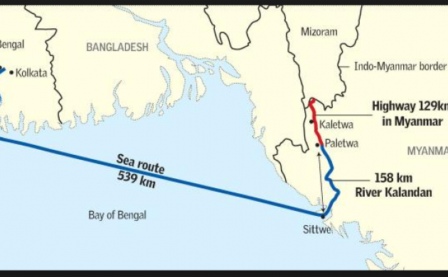 Kaladan multi-modal transport corridor is among the Indian projects delayed in Myanmar  (File Photo)