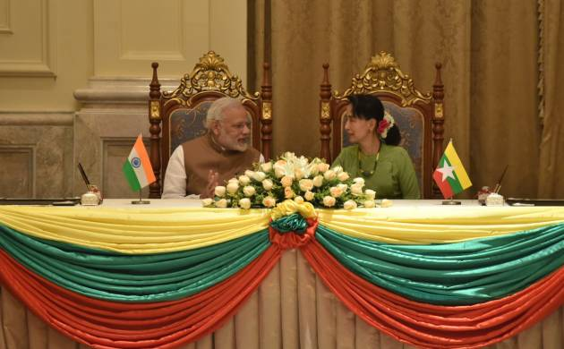 PM Modi in Nay Pyi Taw: 'We share your concerns about extremist violence in Rakhine state' (PIB Image)