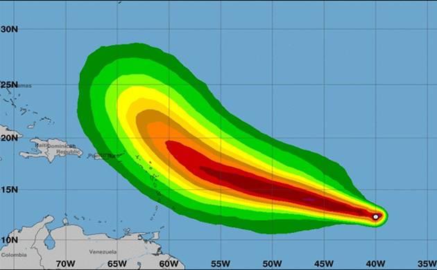 Tropical storms Jose, Katia upgraded to hurricane status: NHC (Source: NHC Atlantic Ops' Twitter)