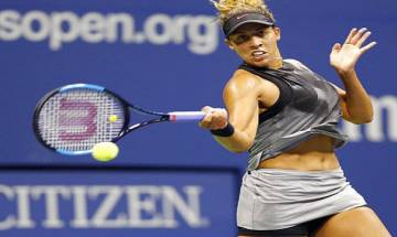 US Open 2017: Madison Keys beats Kaia Kanepi in quarters to complete American sweep of women's semifinals