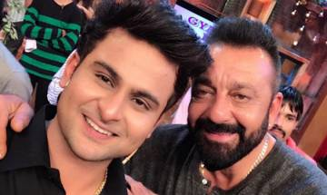 Sanjay Dutt promotes Bhoomi on Krushna Abhishek's show, makes Sanket Bhosale teary-eyed
