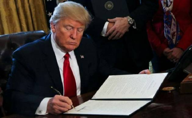 Donald Trump signs USD 15 billion hurricane relief package