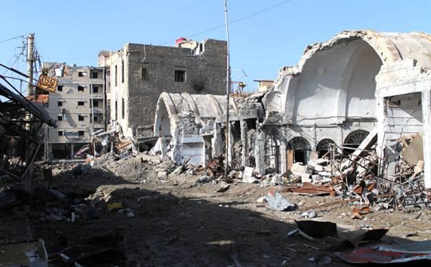 Russian air strikes kill 34 civilians near Deir Ezzor city (File Photo)