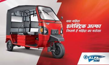 Mahindra & Mahindra launches e-Alfa Mini Electric Rickshaw at Rs 1.12 lakh; everything you need to know