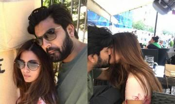 Riya Sen enjoys honeymoon with hubby Shivam in Prague, shares their perfect 'lip-lock' moment on Instagram (see pic)