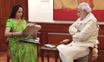 Hema Malini keen to perform international shows, asks Narendra Modi to build auditoriums in metro cities