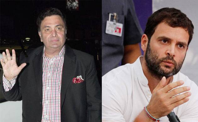 Rishi Kapoor takes a dig at Rahul Gandhi for 'dynasty politics' comments, says respect is earned through hard work