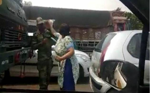 Delhi: Woman arrested for slapping Indian Army Personnel gets bail