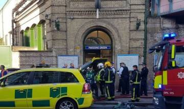 Islamic State group claims responsibility for London subway bombing; UK PM Theresa May raises security level to 'critical'