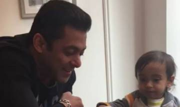 Watch: Salman Khan's breakfast date with nephew Ahil in London is the cutest thing on Internet!