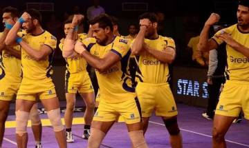 Pro-Kabaddi League 2017: Telugu Titans and Bengaluru Bulls match ends in dramatic 26-26 tie