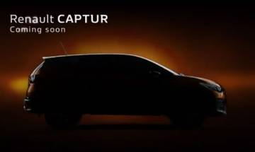 Video: Renault Captur's teasers released ahead of its launch in India