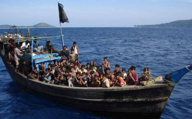 Rohingyas may use sea routes to sneak into India: Reports (File Photo)