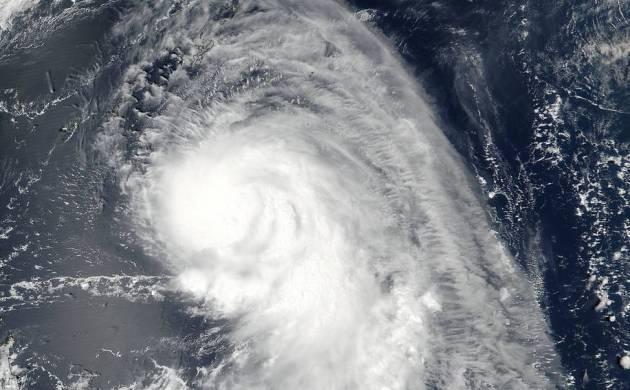 Typhoon Talim kills two as it rips through Japan (Image: NASA Earth)