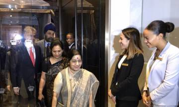 UNGA | Swaraj reaches New York; UNSC seat, counter-terrorism, climate change on agenda