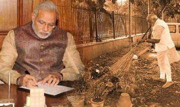 Prime Minister Narendra Modi writes to celebrities across fields to promote Clean India
