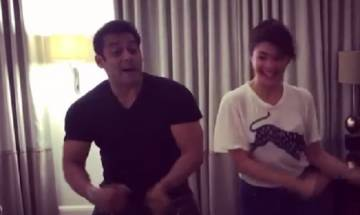 Watch: Salman Khan, Jacqueline Fernandez shakes a leg on 'Tan Tana Tan'