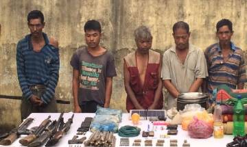 Assam Police and Army nab 5 HNLC ultras, recover arms and explosives
