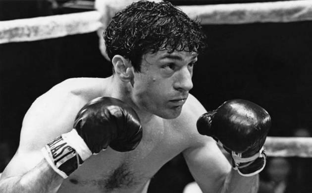 Jake LaMotta, the former middleweight boxing champion (file photo)