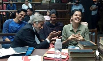 Amitabh Bachchan bashed for posting controversial picture, Taapsee Pannu comes to rescue