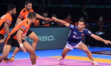 Pro-Kabaddi League 2017: U-Mumba defeat Dabang Delhi 30-28 in thrilling encounter