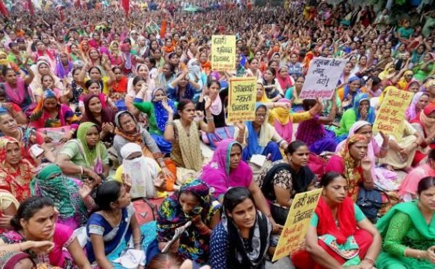 Anganwadi workers in Maharashtra (file photo)