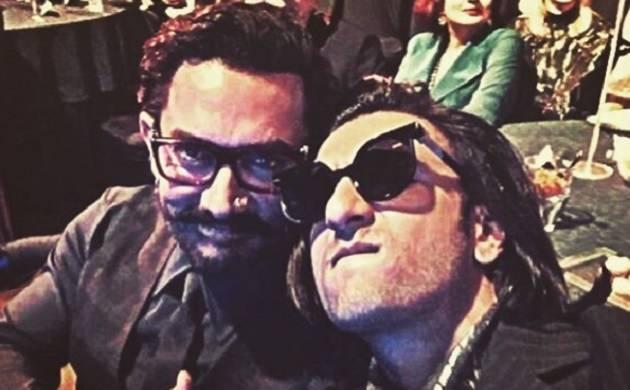 Ranveer Singh shares 'Thug Life' selfie with Aamir Khan! Take a look