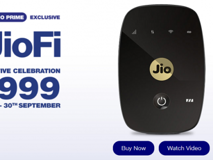 Reliance Jio to slash prices of Jio-Fi device by Rs 1000