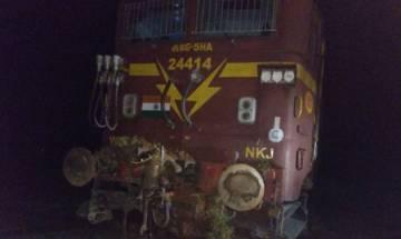 Chhattisgarh: Goods train derails in Bilaspur; no casualty reported