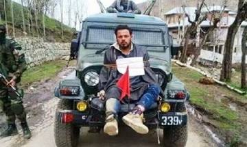 Jammu and Kashmir human shield had indeed voted before being tied to army vehicle, confirms interim report