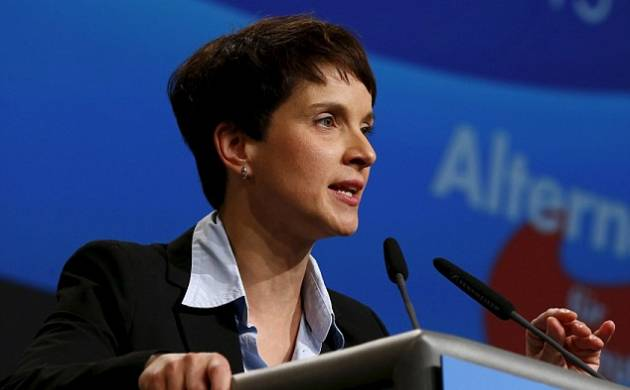 AfD co-chief Frauke Petry (File Photo)